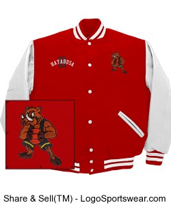 The JV Adult Varsity Jacket Design Zoom